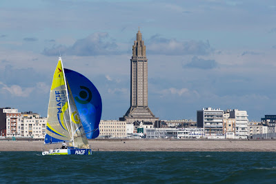 Une trentaine de Figaro sur la Le Havre Allmer Cup au Havre