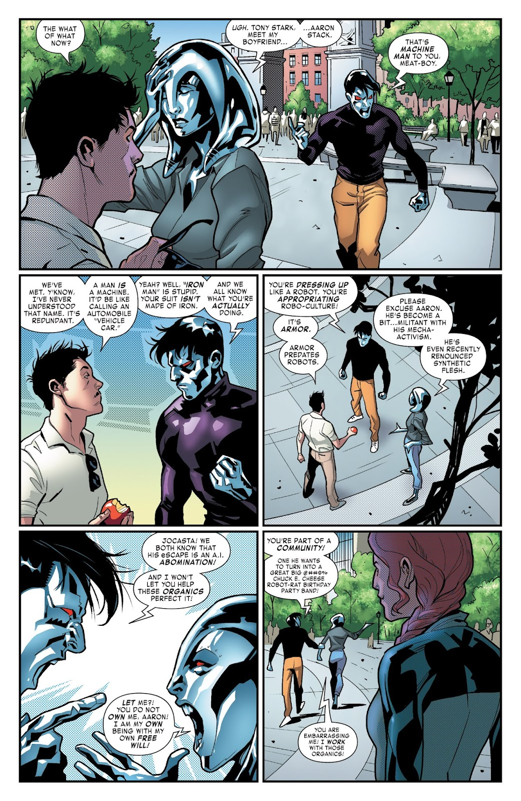 Read online Tony Stark: Iron Man comic -  Issue #3 - 8