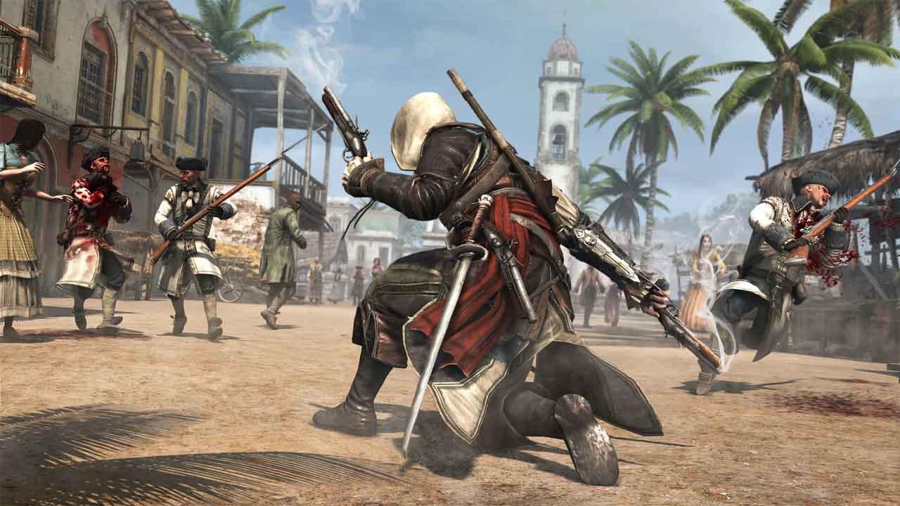 تحميل لعبة Assassin's Creed IV Black Flag برابط مباشر + تورنت