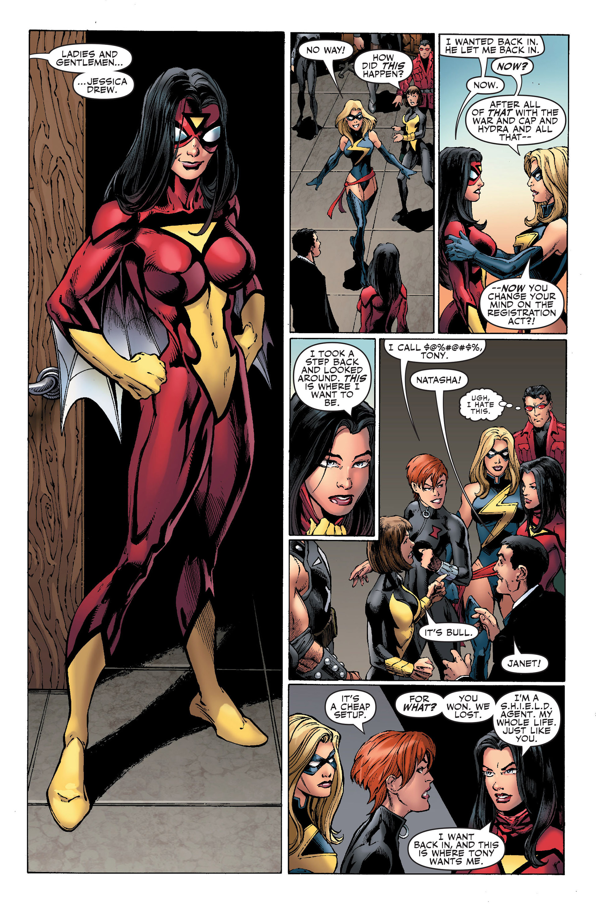 Read online Secret Invasion: The Infiltration comic -  Issue #1 - 12