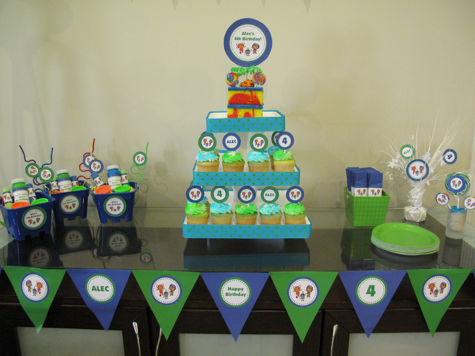 Sold As An Add On To The Regular Team Umizoomi Party Printables Package