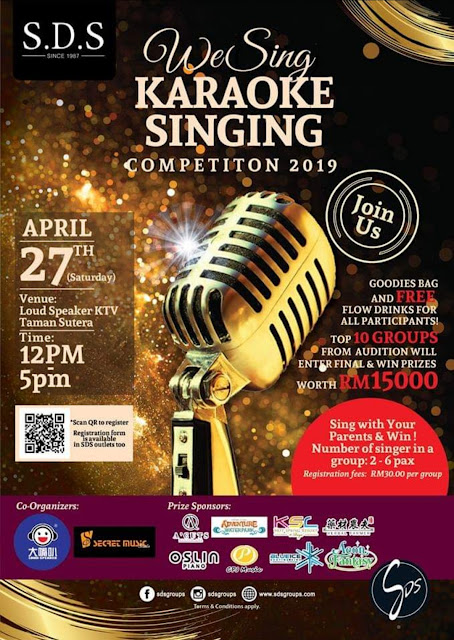 KARAOKE SINGING COMPETITION 2019