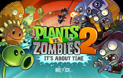 Plants vs. Zombies 2 Mod Apk + DATA Android Unlimited Coin Offline