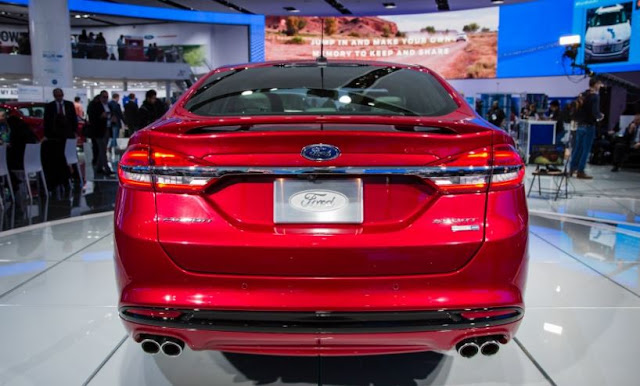 2017 latest Ford Fusion Sport