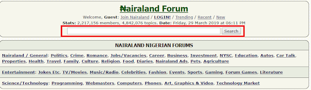 Using Nairaland for OSINT Investigations  - Bits of Security