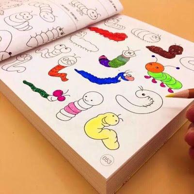 sách tô màu cho bé 2 tuổi