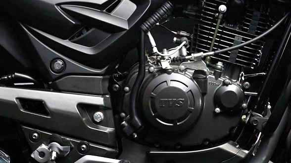 TVS Apache RTR 160 engine photo