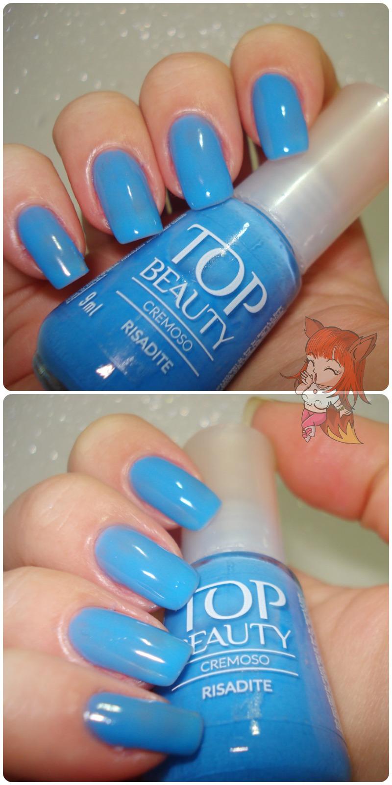 Esmalte Risadite :: Top Beauty - Novembro Azul - Resenha
