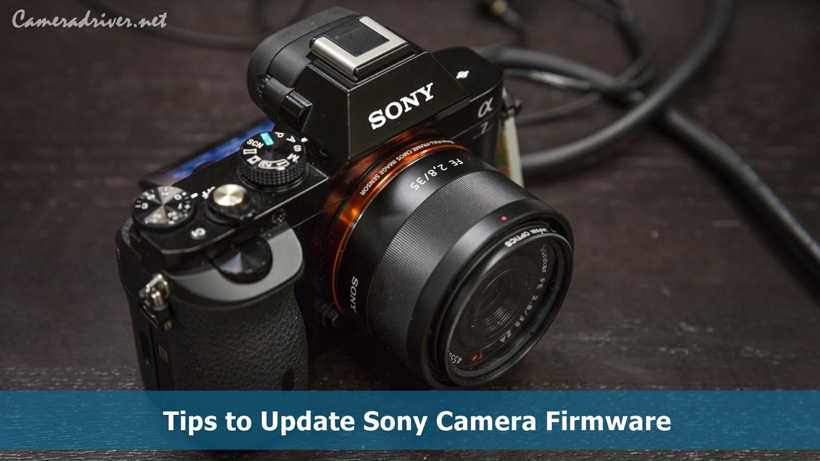 Sony Camera Firmware
