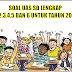 Download Soal UAS SD KTSP Kelas 1,2,3,4,5 dan 6 untuk tahun 2016/2017