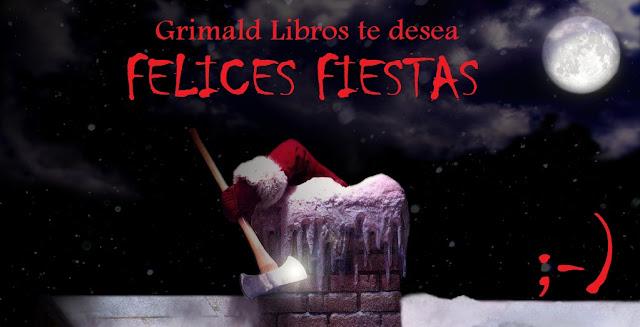 """alt=""""grimald libros, felices fiestas, christmas"""""""