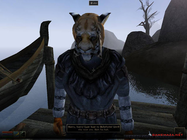 The Elder Scrolls III Morrowind Tribunal Bloodmoon Gameplay Screenshot 1