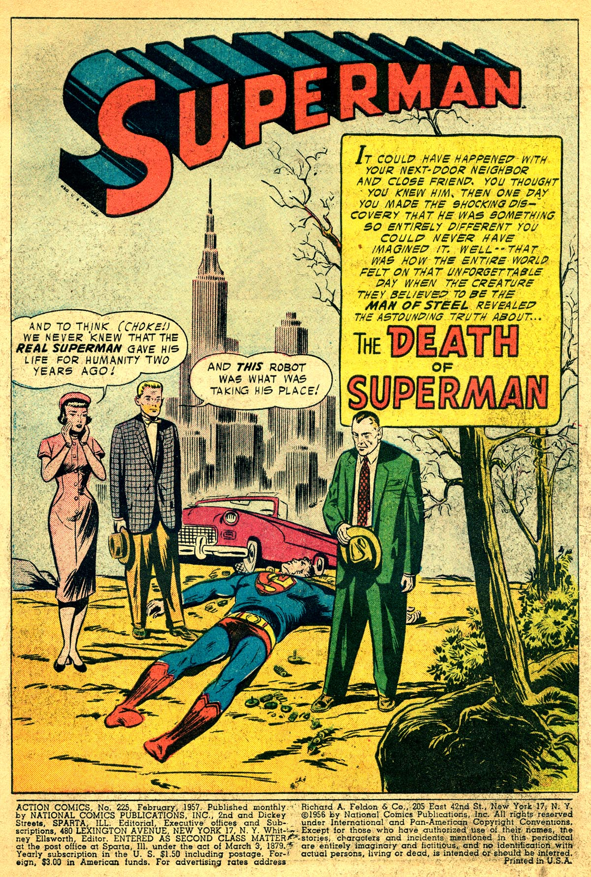Read online Action Comics (1938) comic -  Issue #225 - 3