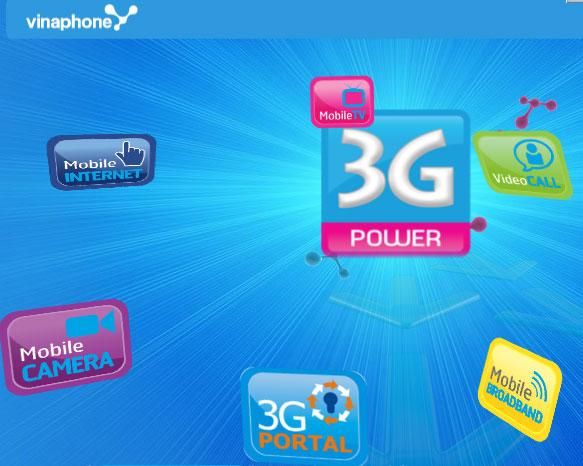 Hướng dẫn cài đặt 3G Vinaphone mới nhất