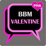 pada kesempatan pagi yang cerah ini aku akan membagikan sebuah bbm mod yang penuh dengan BBM Mod Valentine 2018 (BBM Princess) Apk