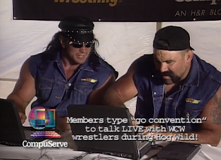 WCW HOG WILD 1996 REVIEW: Steiner Brothers play on the internet