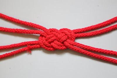 Denizci Düğümü İle Saç Bandı Yapımı 10