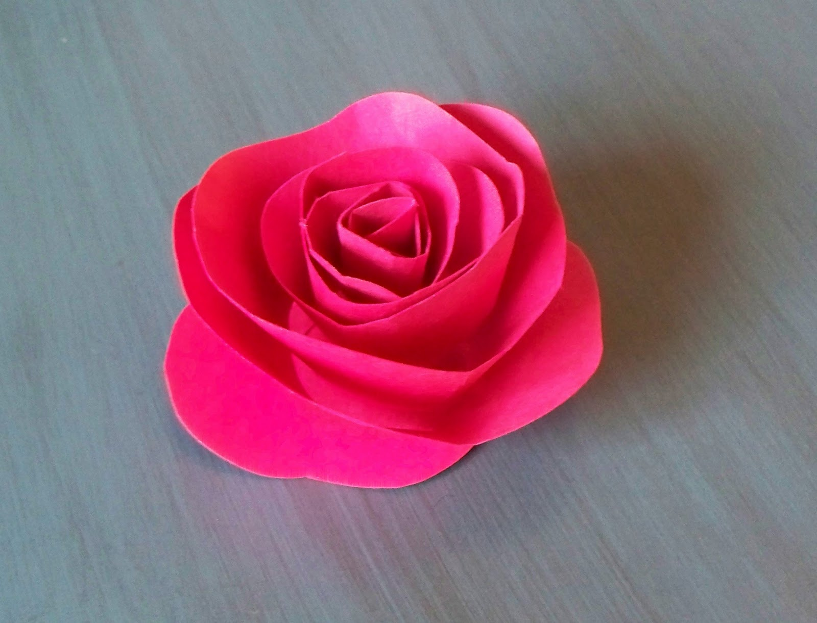 How to Make a Paper Rose Easily