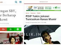 Istri Munir Mulai Sadar: HAM Cuma Jadi Alat Politik Jokowi untuk Berkuasa