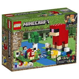 Minecraft The Wool Farm Lego Set