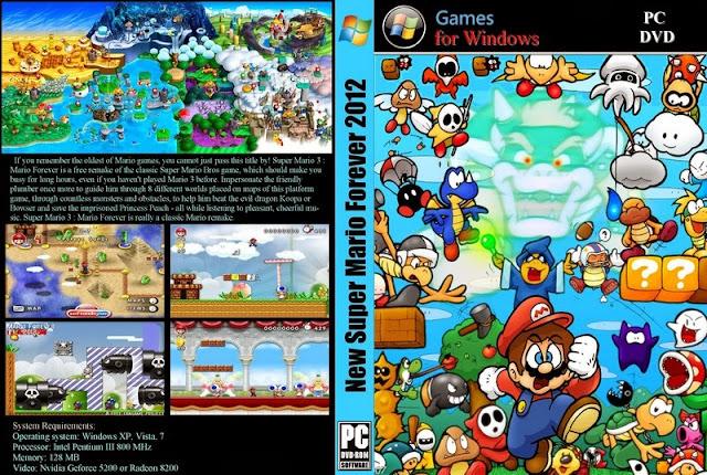 تحميل لعبة Super Mario Forever برابط واحد مباشر