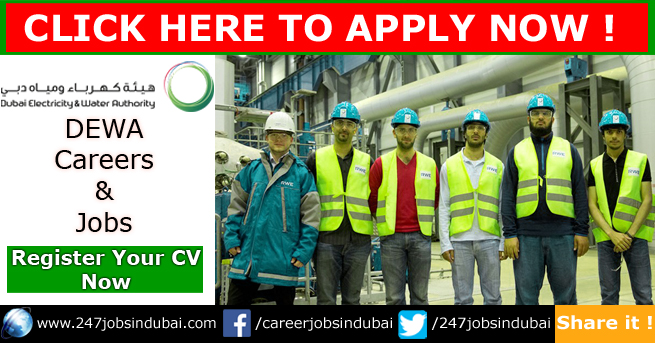DEWA Jobs and Careers Vacancies in Dubai