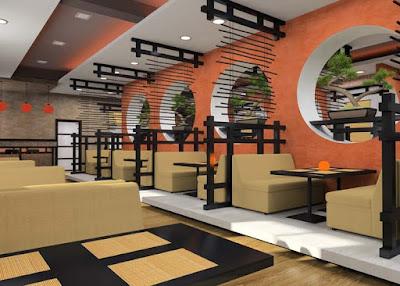 mô hình quán cafe nhỏ