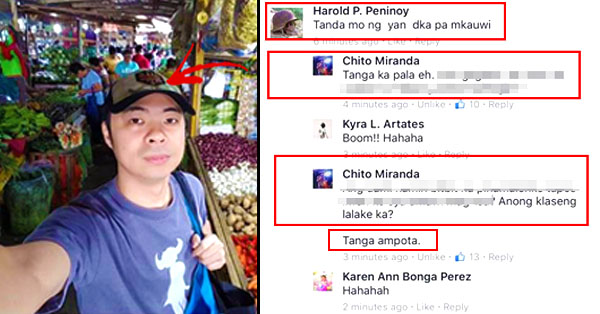 READ: Chito Miranda Lost His Temper and Snapped at a Netizen Who Bashed Him for Waiting for His Wife: 'T*nga amp*ta!