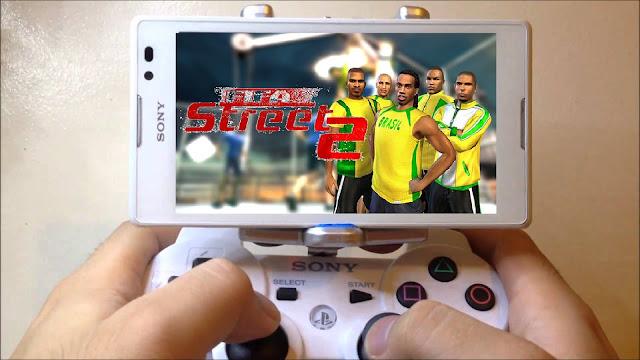 تحميل لعبة fifa street 2 كرة الشوارع لأجهزة اندرويد