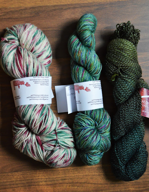 I'm in search of single skein projects to knit with this yarn.
