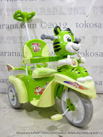 Sepeda Roda Tiga Sayang SY150 Macan Full Body Ban EVA Super Besar