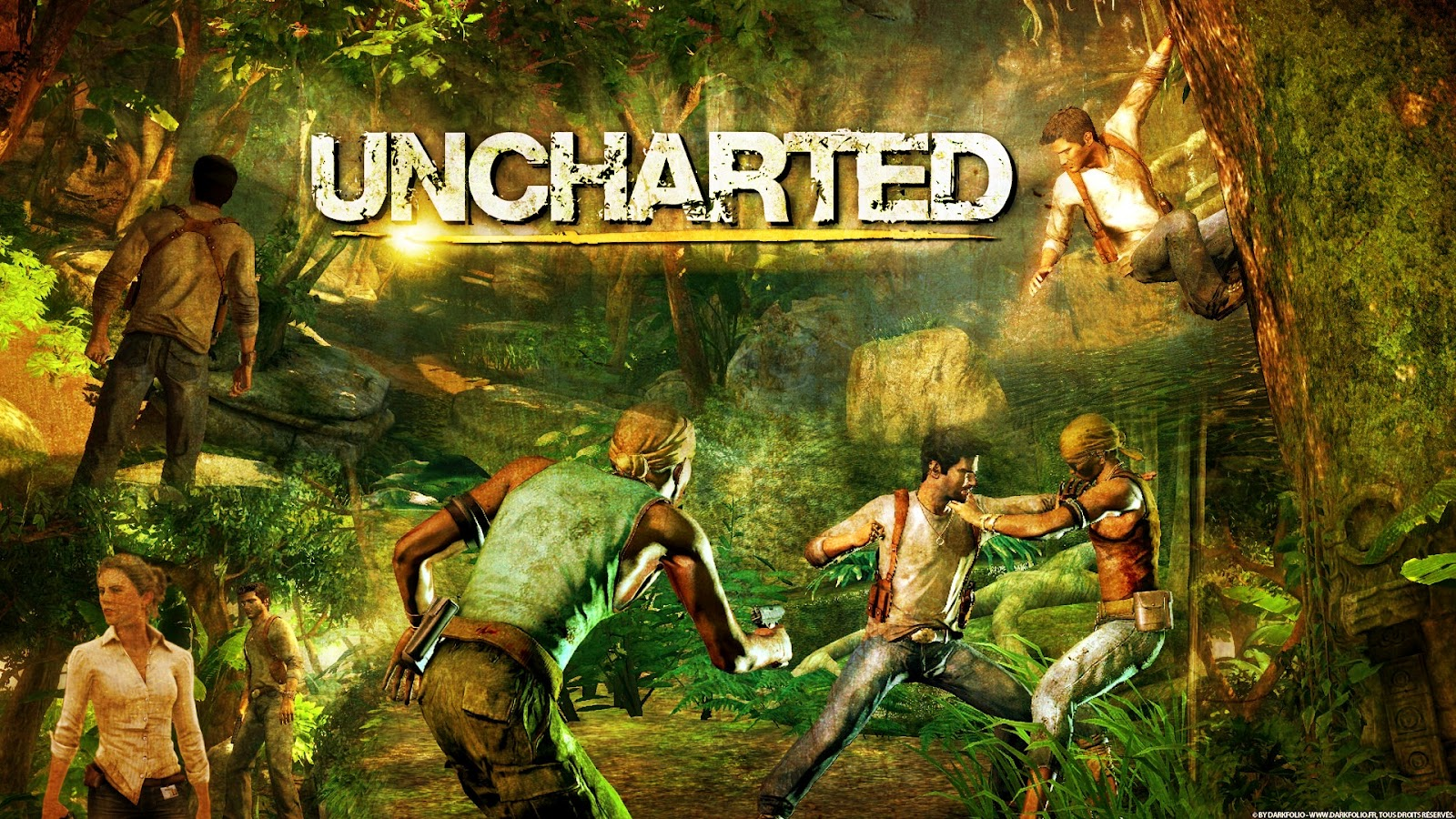 Kane blog picz wallpaper uncharted 2 hd - Uncharted wallpaper ...