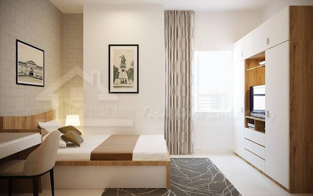 Bố trí thảm trải sàn phòng ngủ