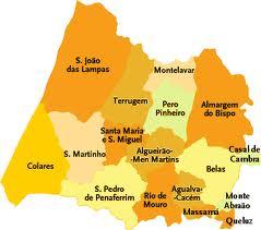 rio de mouro mapa Portugal torrão natal: FREGUESIA DE RIO DE MOURO rio de mouro mapa
