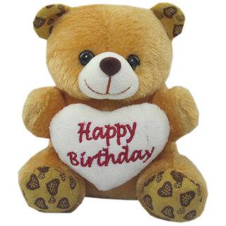 Cute Happy Birthday Teddy Bear Wallpaper