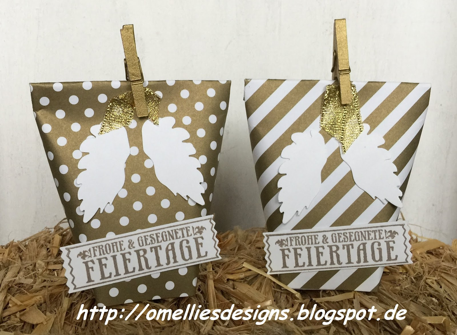 Omellie\'s Designs: Kleine Mitbringsel zur Weihnachtsfeier
