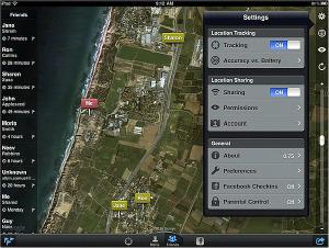FOOTPRINTS trabaja utilizando un posicionamiento global GPS