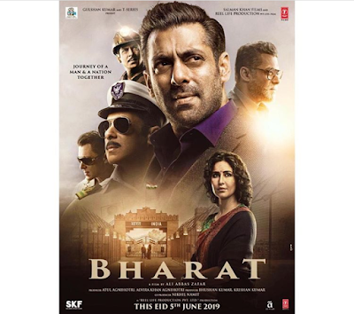 Bharat Movie 2019 - Full Details, Cast, Crew, Budget, Release Date, Story, Songs, Box Office, Salman khan etc