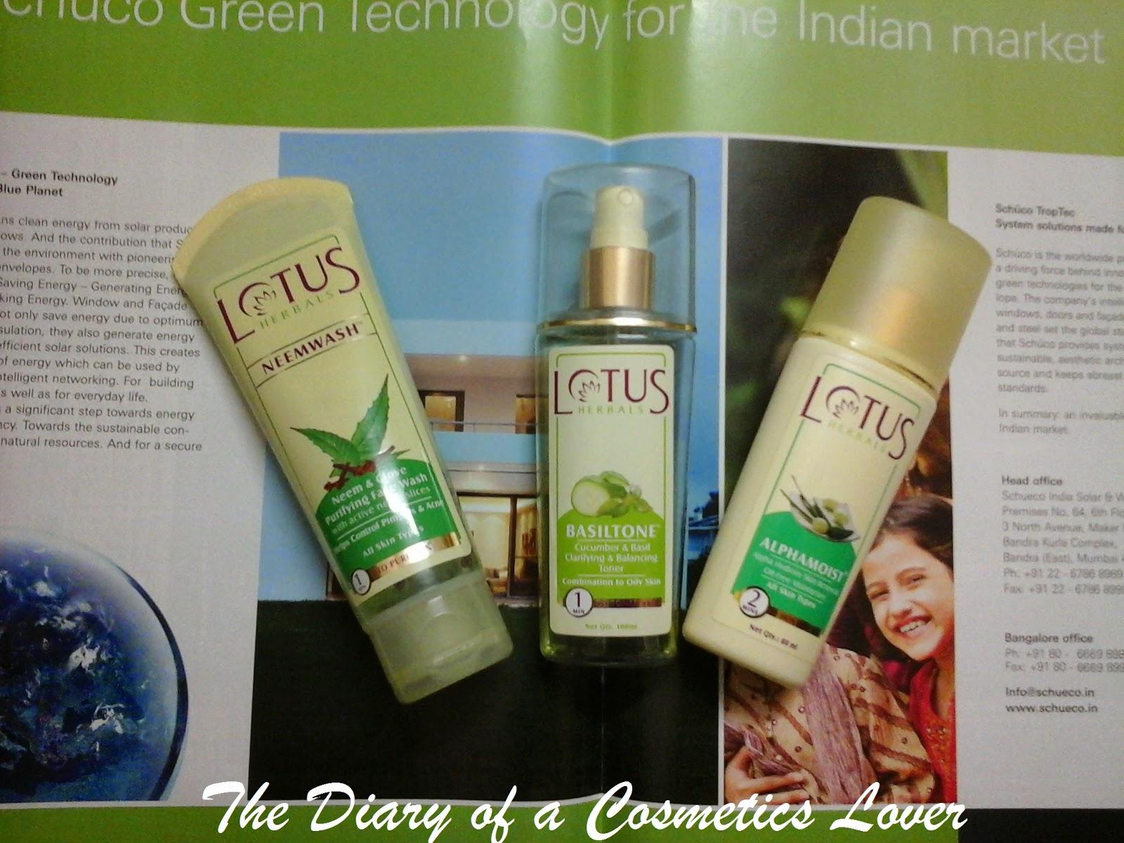 The Beauty Diaries: Lotus Herbals Neemwash Neem and Clove Ultra
