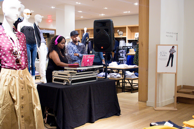 J. Crew Not Your Ordinary College Party Event in Georgetown