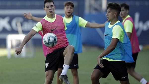 Málaga, hoy entrenamiento, rueda de prensa de Renato Santos y salida hacia Estepona