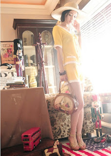 Tas Wanita Model Terbaru Mei 2016 Korea Cantik 0024 Doll Printing