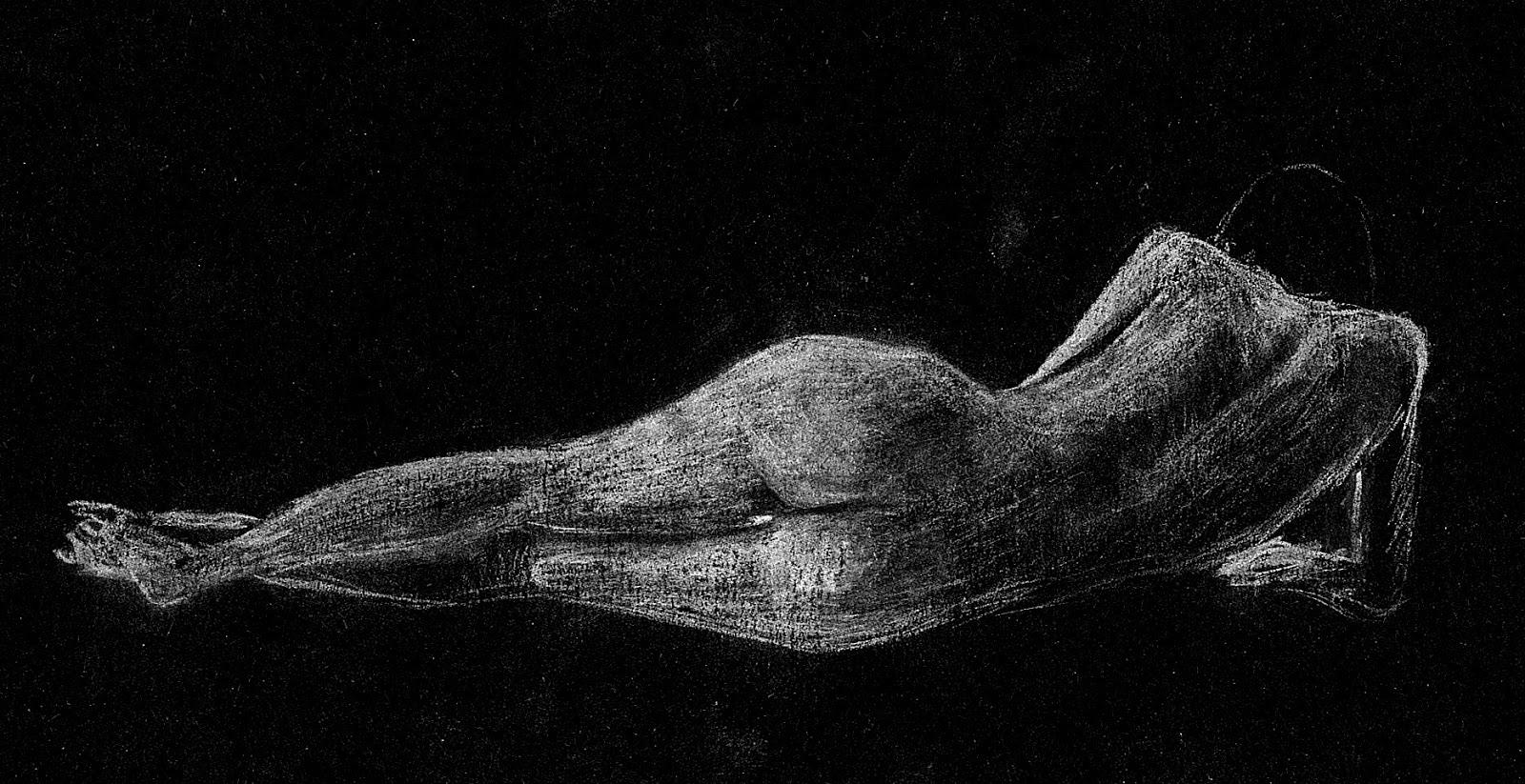 seb dessin d 39 anatomie papier noir. Black Bedroom Furniture Sets. Home Design Ideas