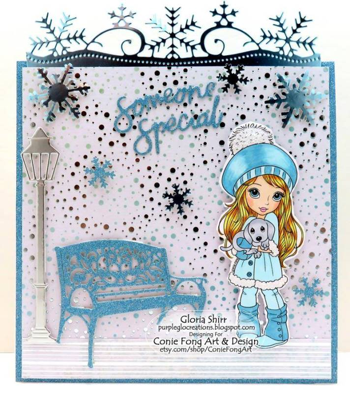 Featured Card at Paper Nest Dolls Challenges