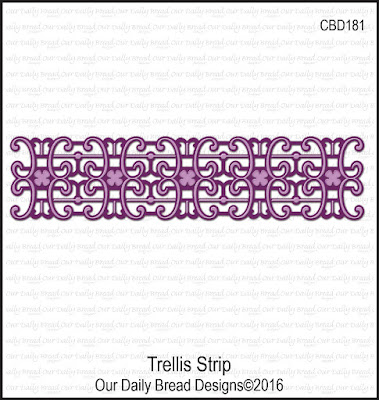 ODBD Custom Dies: Trellis Strip