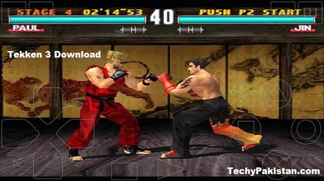Tekken 3 Game Download for Computer - Free Download