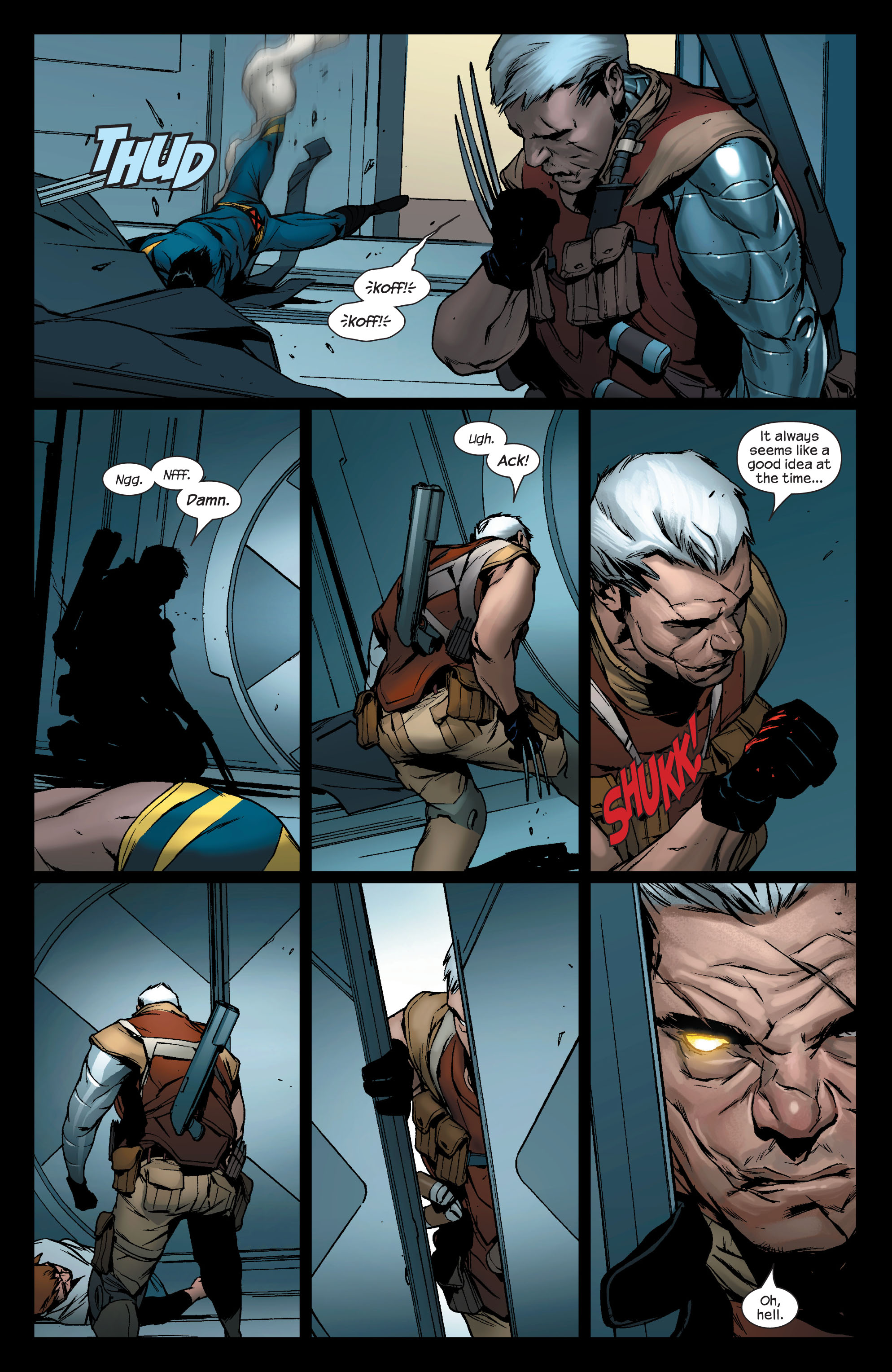 Read online Ultimate X-Men comic -  Issue #76 - 8