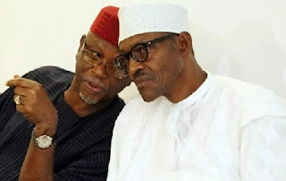 John Odigie-Oyegun and Buhari