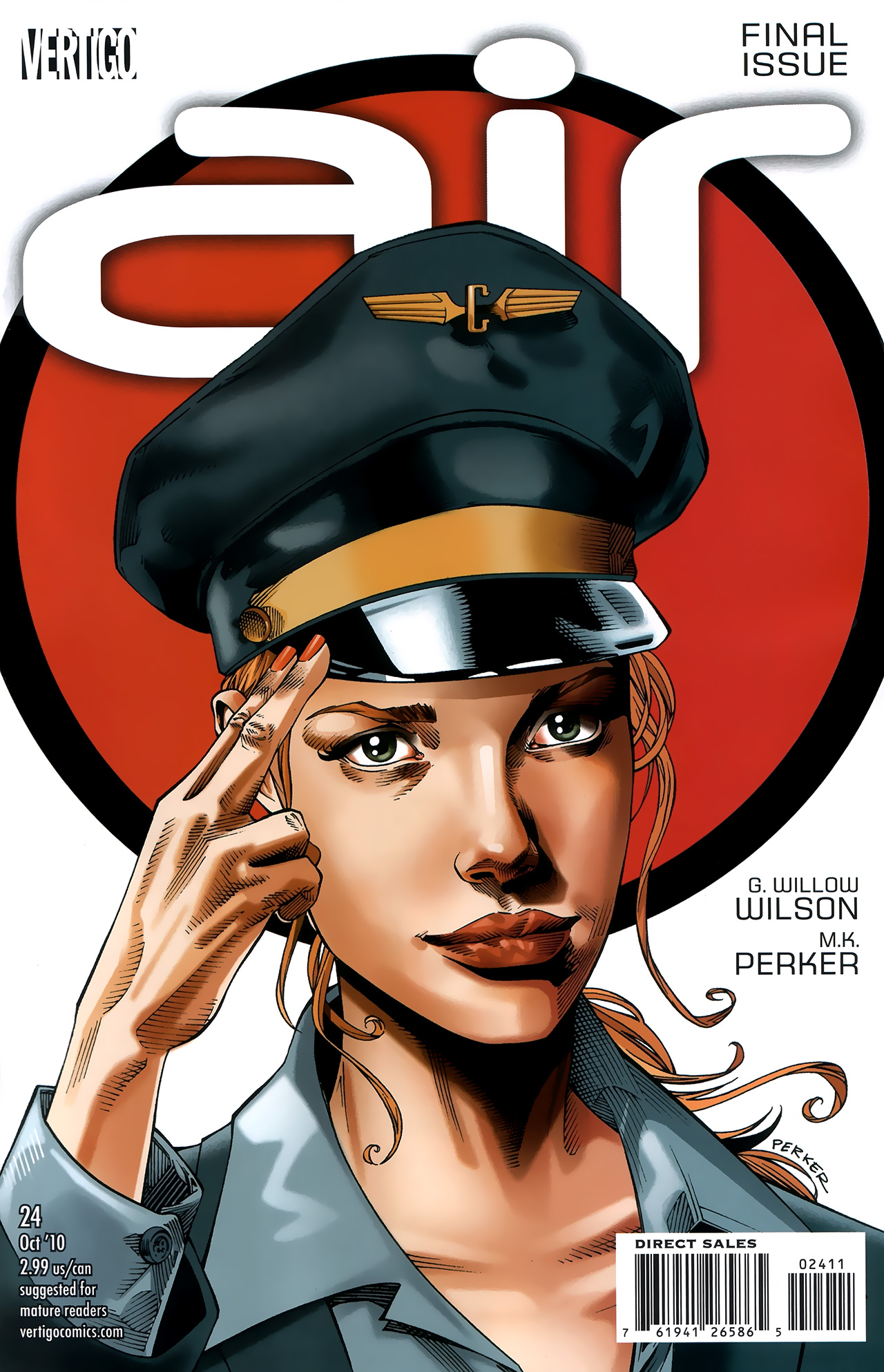 Read online Air comic -  Issue #24 - 1