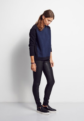 Hush Quilted Contrast Sweat
